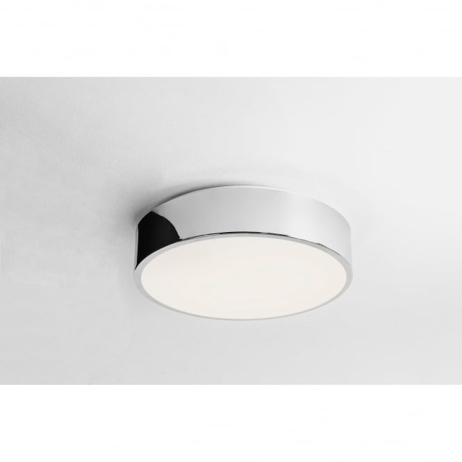 Astro Lighting Mallon Single LED Bathroom Ceiling Fitting in Polished Chrome Finish