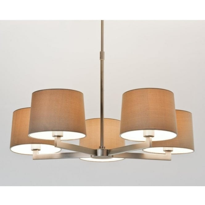 Astro Lighting Martina 5 Light Ceiling Pendant In Matt Nickel Finish