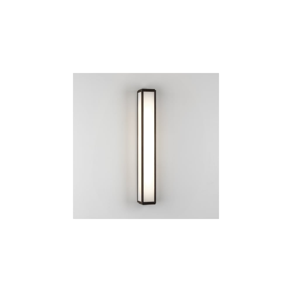 Astro lighting mashiko 600 single light low energy high output mashiko 600 single light low energy high output bathroom wall fitting in bronze plated finish aloadofball Image collections