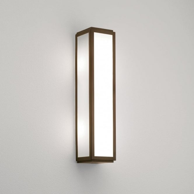 Astro Lighting Mashiko Classic 360 2 Light Bathroom Wall Fitting in a Bronze Finish