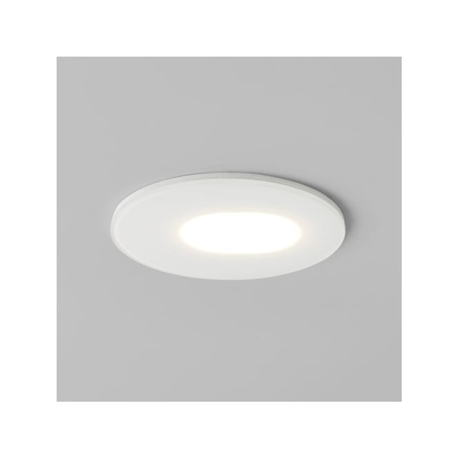 Astro Lighting Mayfair Single LED Adjustable Recessed Ceiling Fitting in White