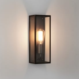 Messina Single Light Outdoor Wall Fitting in Bronze Finish