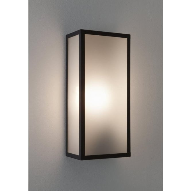Astro Lighting Messina Single Light Outdoor Wall Fitting With Frosted Glass Diffuser