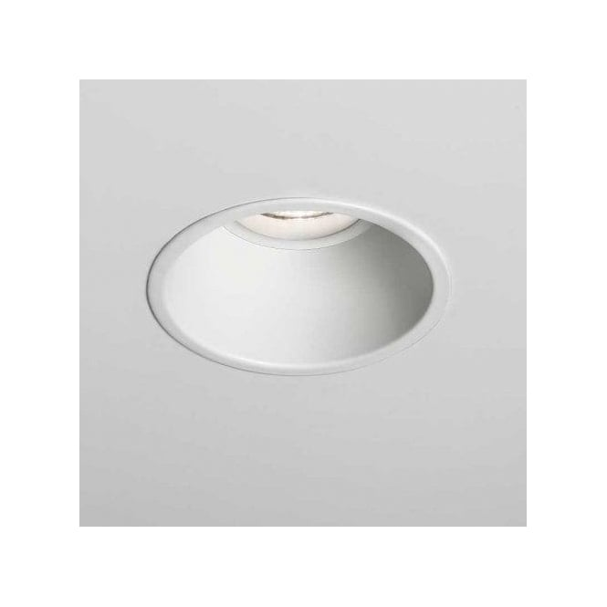 Astro Lighting Minima Single Light Fixed LED Recessed Ceiling Fitting In White Finish