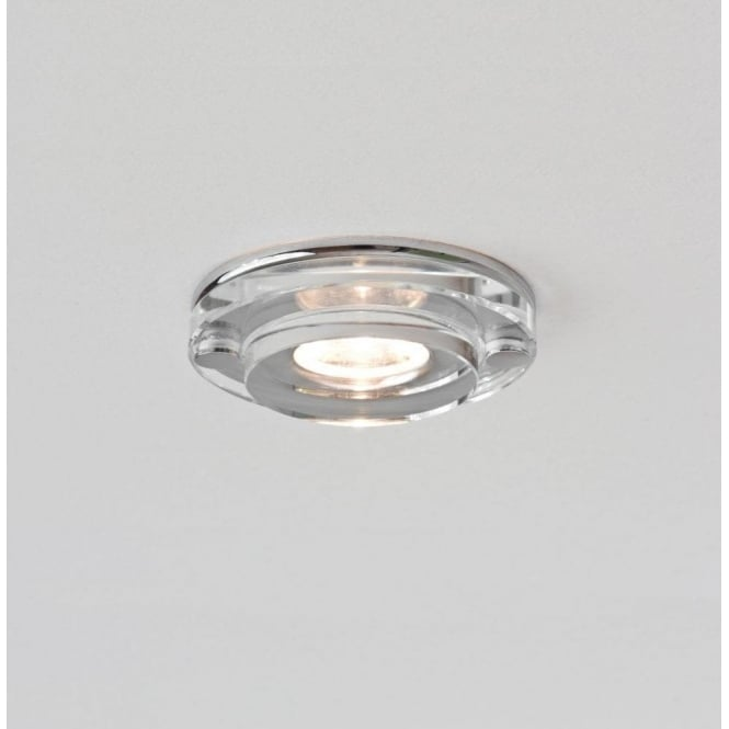 Astro Lighting Mint Single Light LED Clear Glass Bathroom Recessed Downlight