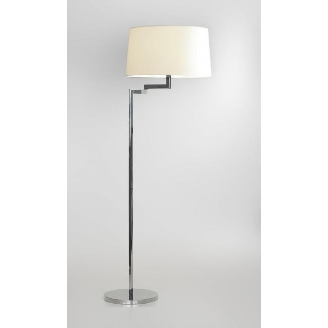 Astro Lighting Momo Single Light Swing Arm Floor Lamp Base In Polished Chrome Finish