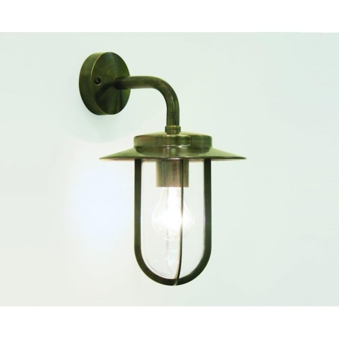 Astro Lighting Montparnasse Single Light Outdoor Wall Fitting in Bronze Finish