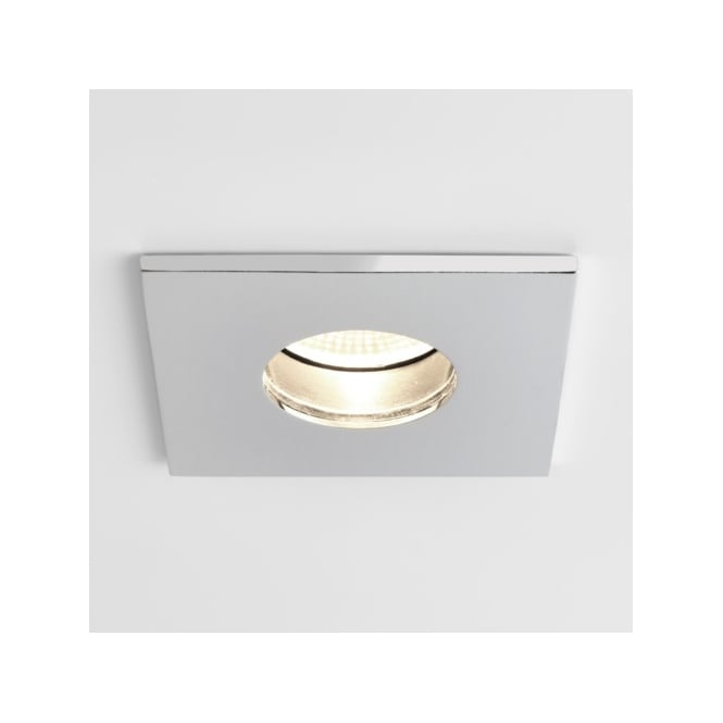 Astro Lighting Obscura Single LED Dimmable Recessed Fire Rated Ceiling Fitting in Polished Chrome Finish