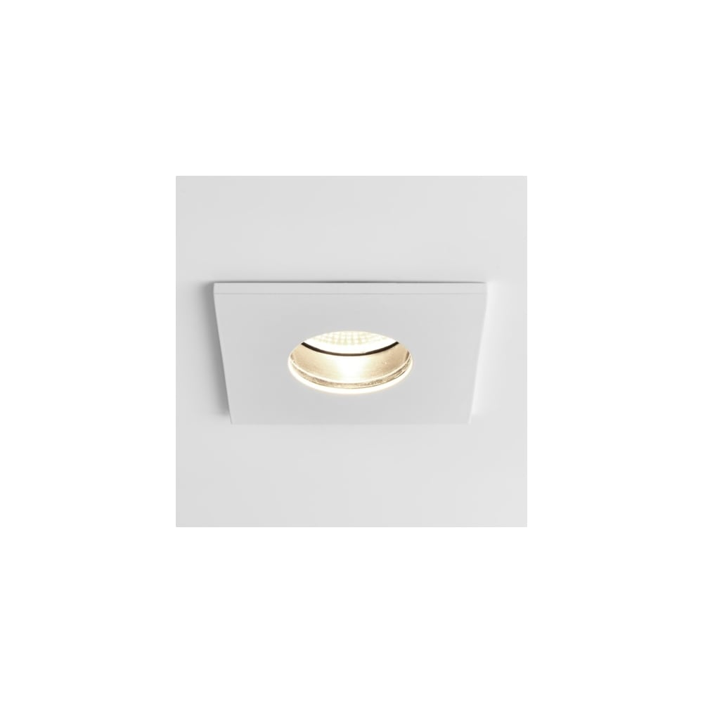 separation shoes 94a63 807aa Astro Lighting Obscura Single LED Dimmable Recessed Fire Rated Ceiling  Fitting in White Finish
