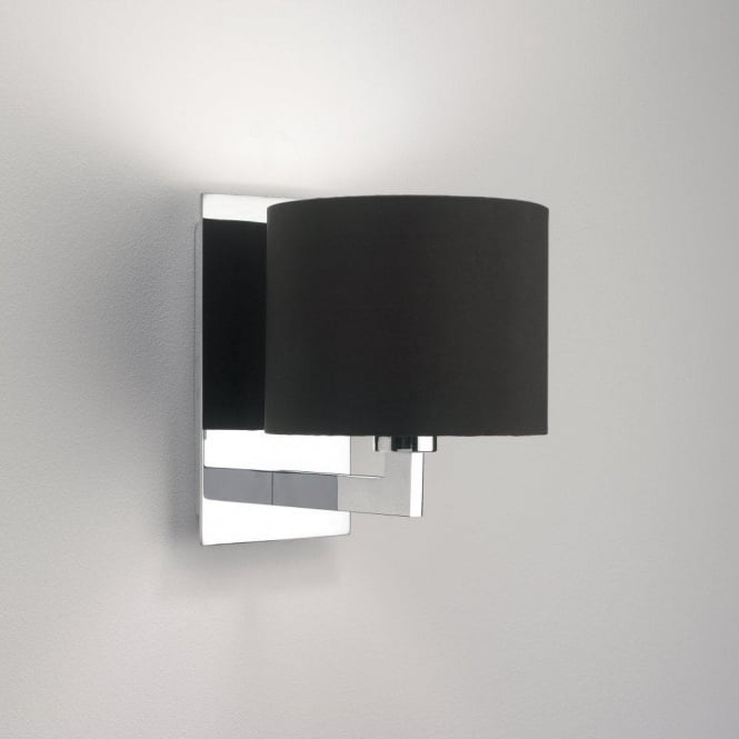 Astro Lighting Olan Single Light Wall Fitting In Polished Chrome Finish
