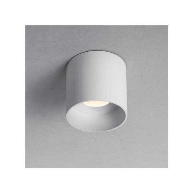 Astro Lighting Osca LED Round Single Light Flush Ceiling Fitting in White Finish