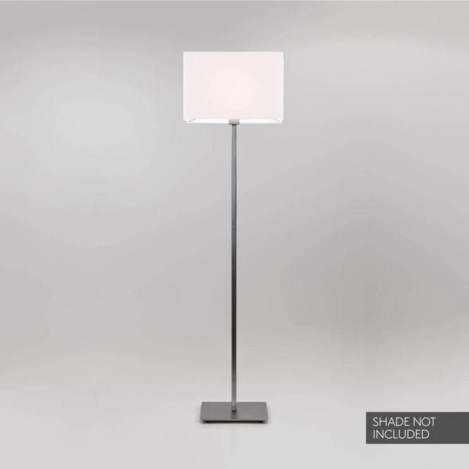 Astro Lighting Park Lane 2 Light Floor Lamp Base Only In Matt Nickel Finish