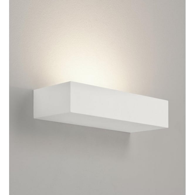 Astro Lighting Parma 200 Single Light Ceramic Wall Fitting In White Finish