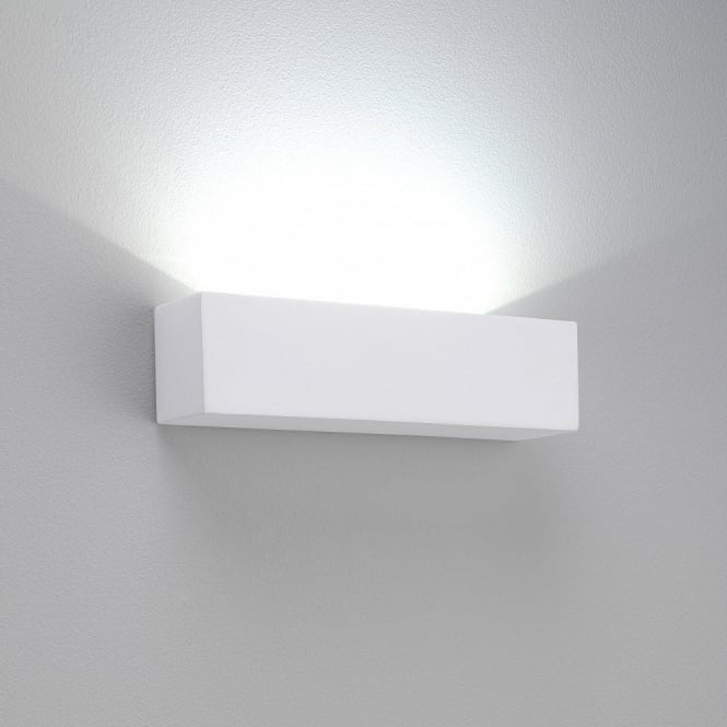 Astro Lighting Parma 250 LED 3 Light Ceramic Wall Fitting In White Finish