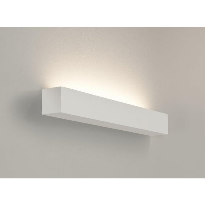Astro Lighting Parma 625 Low Energy Single Light Ceramic Wall Fitting In White Finish