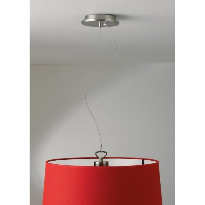 Astro Lighting Pendant Suspension Kit In Matt Nickel Finish