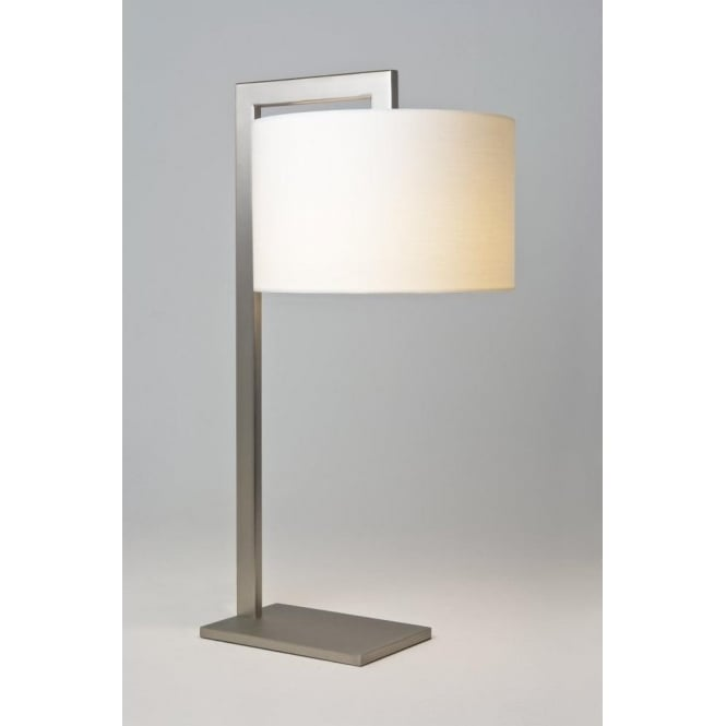 Astro Lighting Ravello Single Light Table Lamp In Matt Nickel Finish