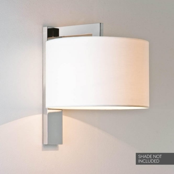 Astro Lighting Ravello Single Light Wall Fitting In Polished Chrome Finish