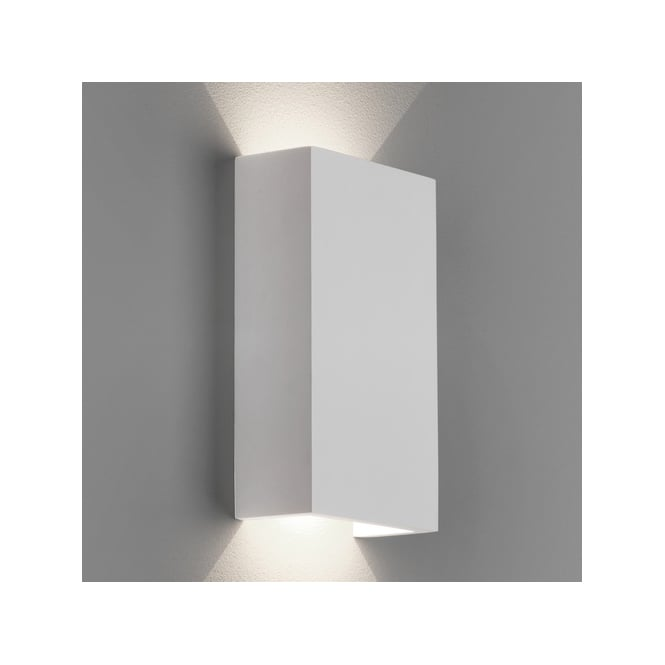 Astro Lighting Rio 125 LED 2 Light Wall Fitting in White Ceramic Finish