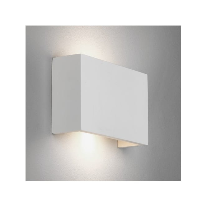 Astro Lighting Rio 210 LED 2 Light Wall Fitting in White Ceramic Finish