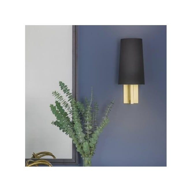 Astro Lighting Riva Single Light Bathroom Wall Fitting Only In Matt Gold Finish