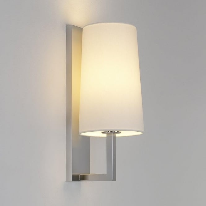 Astro Lighting Riva Single Light Wall Fitting In Matt Nickel Finish