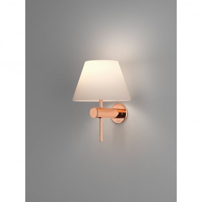 Astro Lighting Roma Single Light Bathroom Wall Fitting in Copper Finish