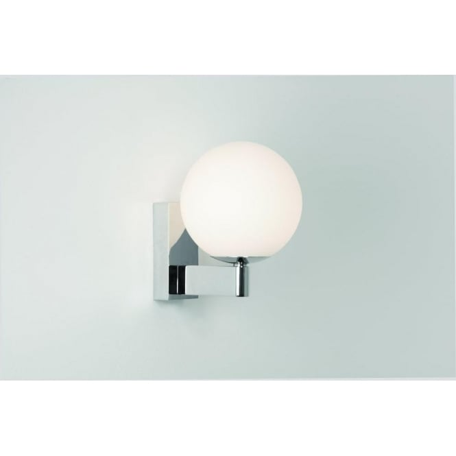 Halogen Bathroom Wall Sconces : Astro Lighting Sagara Single Light Halogen Globe Bathroom Wall Fitting - Lighting Type from ...
