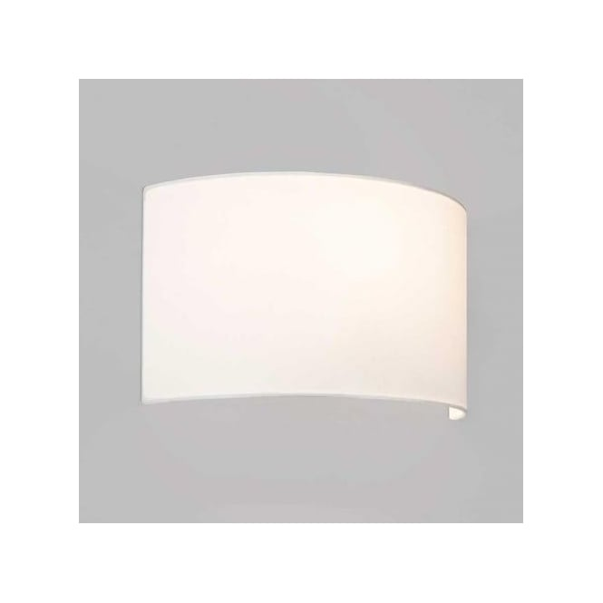 Astro Lighting Semi Drum 400 Shade in White Finish