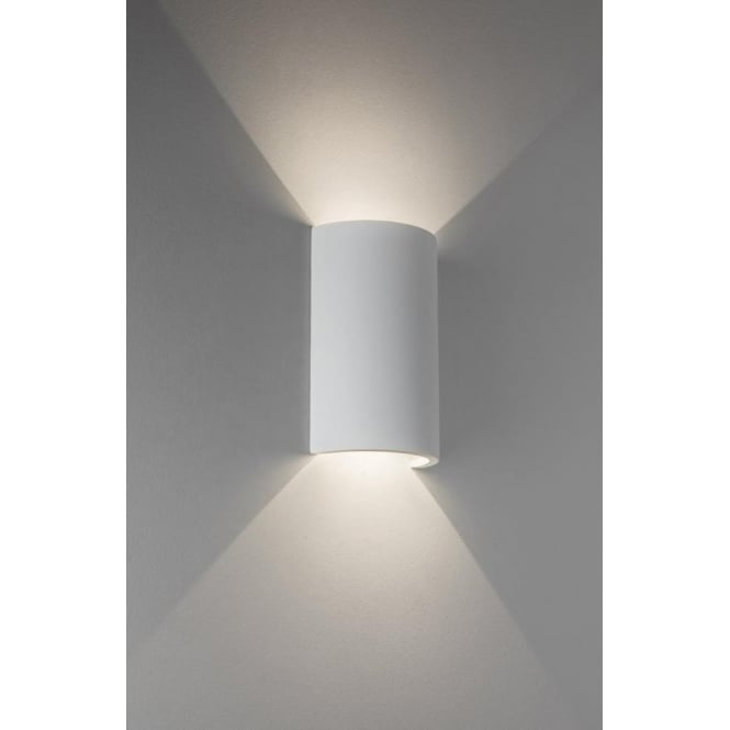 Astro lighting serifos 2 light led ceramic wall fitting in white serifos 2 light led ceramic wall fitting in white finish aloadofball Choice Image