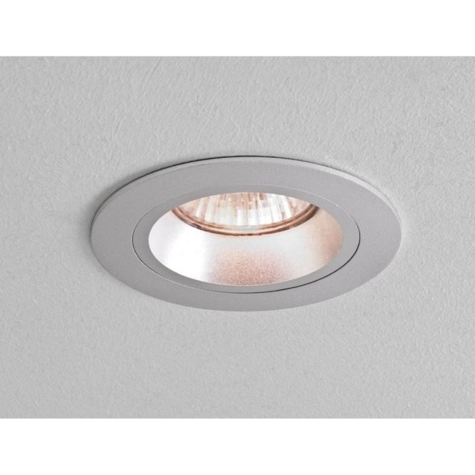 Astro lighting taro round single light fixed halogen recessed taro round single light fixed halogen recessed ceiling fitting in brushed aluminium finish aloadofball Image collections