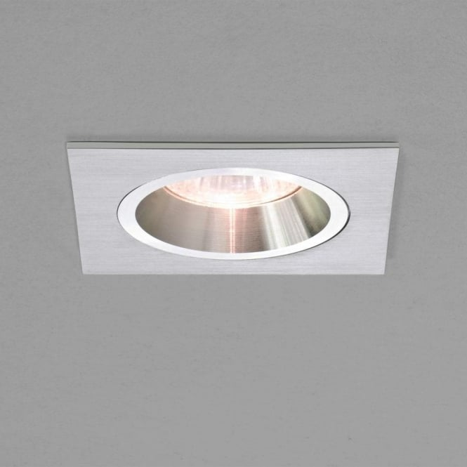 Astro lighting taro square single light fixed halogen recessed taro square single light fixed halogen recessed ceiling fitting in white finish aloadofball Choice Image