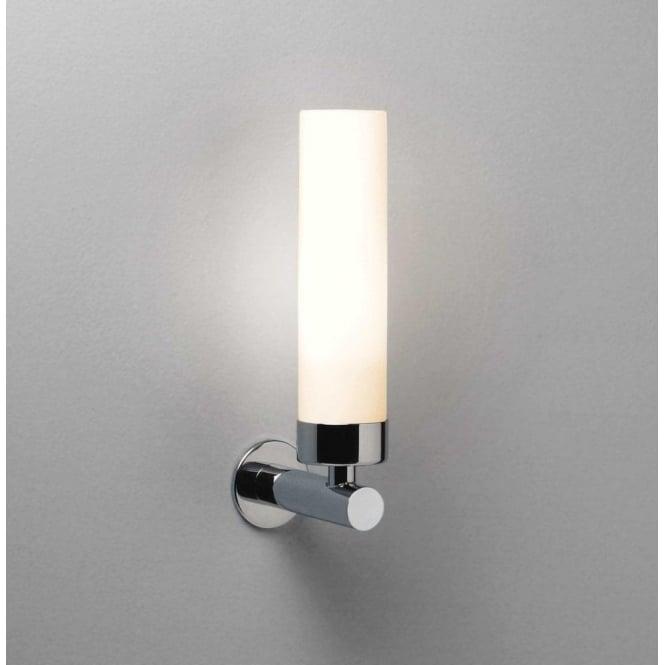 astro lighting tube led bathroom wall fitting in polished chrome rh castlegatelights co uk