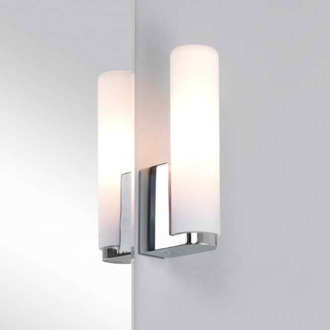 Astro Lighting Tulsa Single Light Bathroom Wall Fitting in Polished Chrome Finish