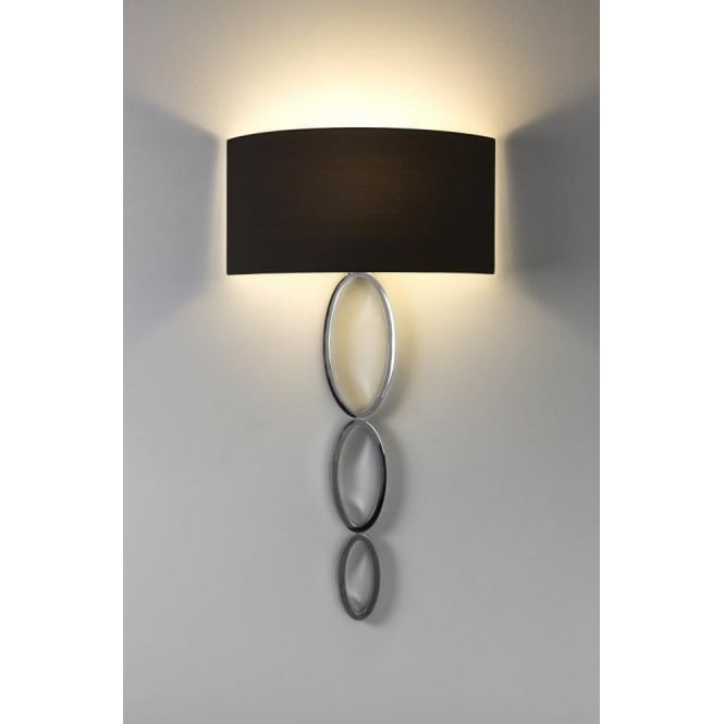 Astro Lighting Valbonne Single Light Wall Fitting In Polished Chrome Finish