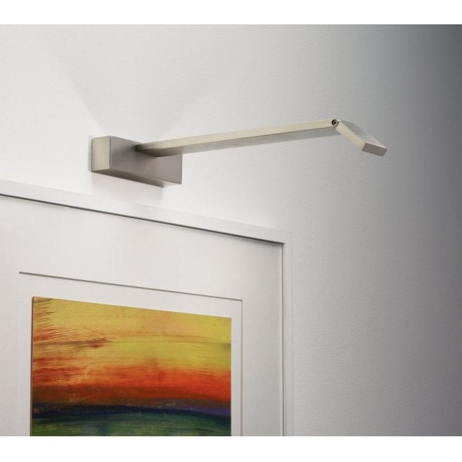 Astro Lighting Vermeer 400 LED Slimline Picture Light In Matt Nickel Finish