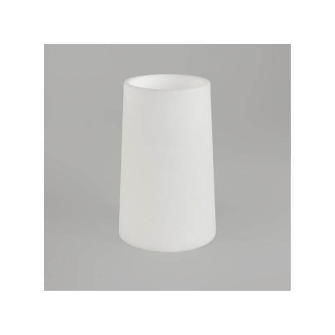 Astro Lighting White Glass Shade Only For Lago Wall Fitting