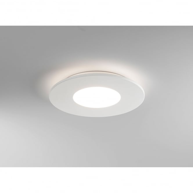Astro Lighting Zero Single LED Round Ceiling Fitting in White Finish