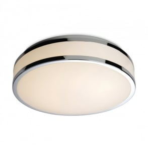 Atlantis LED Bathroom Ceiling Fitting in Polished Chrome Finish