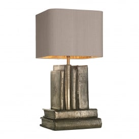 Author Single Light Bronze Finish Table Lamp
