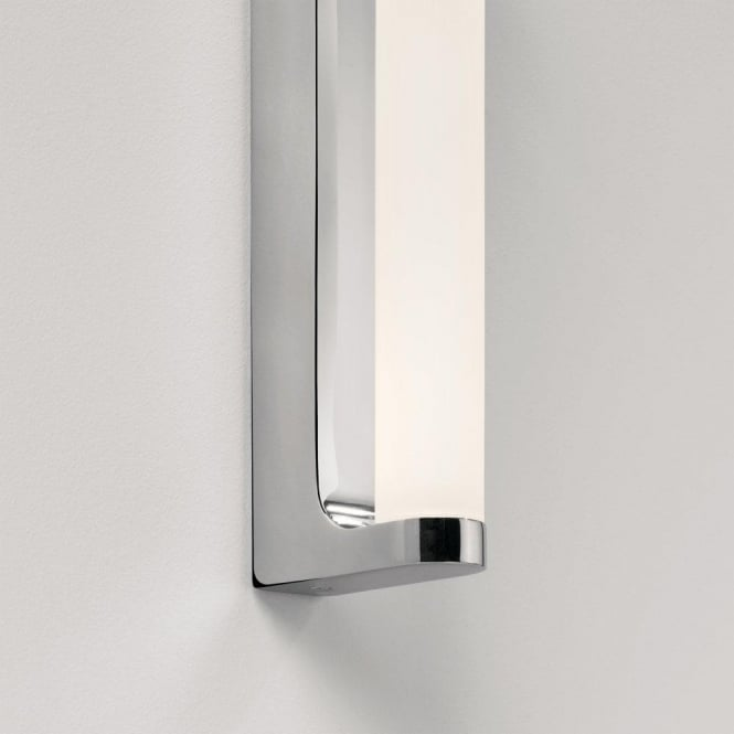 Astro Lighting Avola Single Light LED Bathroom Wall Fitting in Polished Chrome