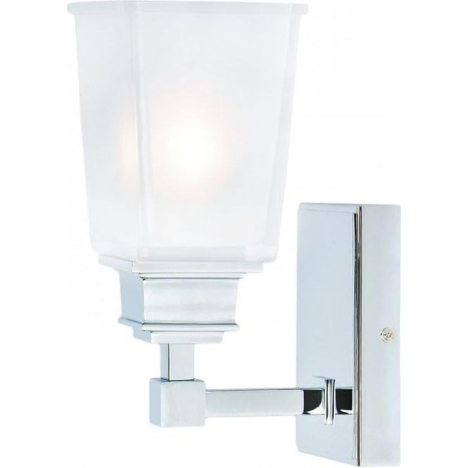 Halogen Bathroom Wall Sconces : Elstead Lighting Aylesbury Single Light Halogen Bathroom Wall Fitting - Lighting Type from ...