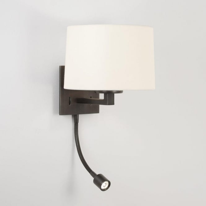 Astro Lighting Azumi Classic LED 2 Light Wall Fitting In Bronze Finish