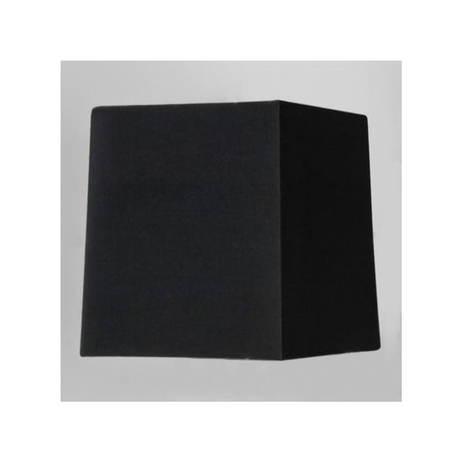 Astro Lighting Azumi Square Black Fabric Shade for Table Lamp