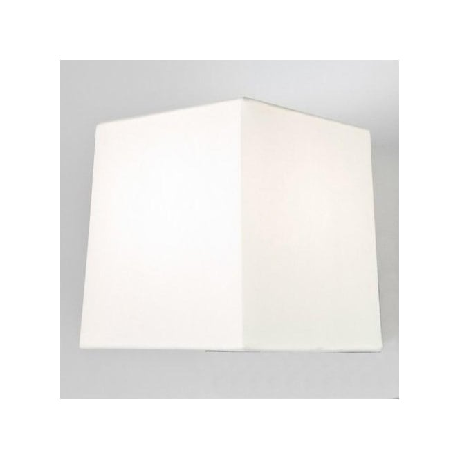 Astro Lighting Azumi Square White Fabric Shade for Table Lamp