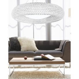 AZ0289 'Acrylio XXL' 6 Light Ceiling Pendant with Acrylic Ball Detail