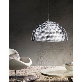 AZ0456 Jack Single Light Ceiling Pendant in Polished Chrome Finish