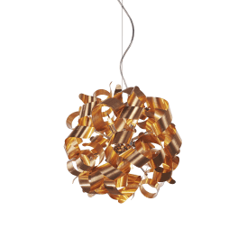 Delta 9 Light Ceiling Pendant in Oxide Copper Finish