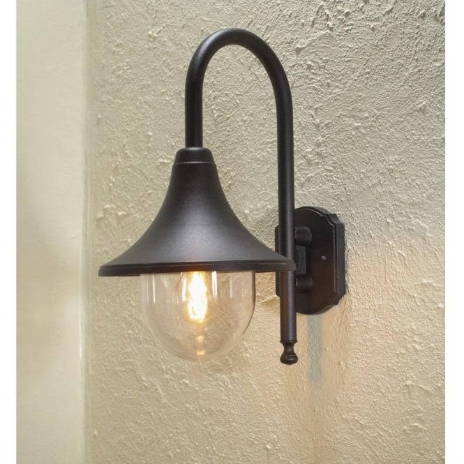 Konstsmide bari outdoor wall light in black finish lighting type konstsmide bari outdoor wall light in black finish lighting type from castlegate lights uk aloadofball Choice Image