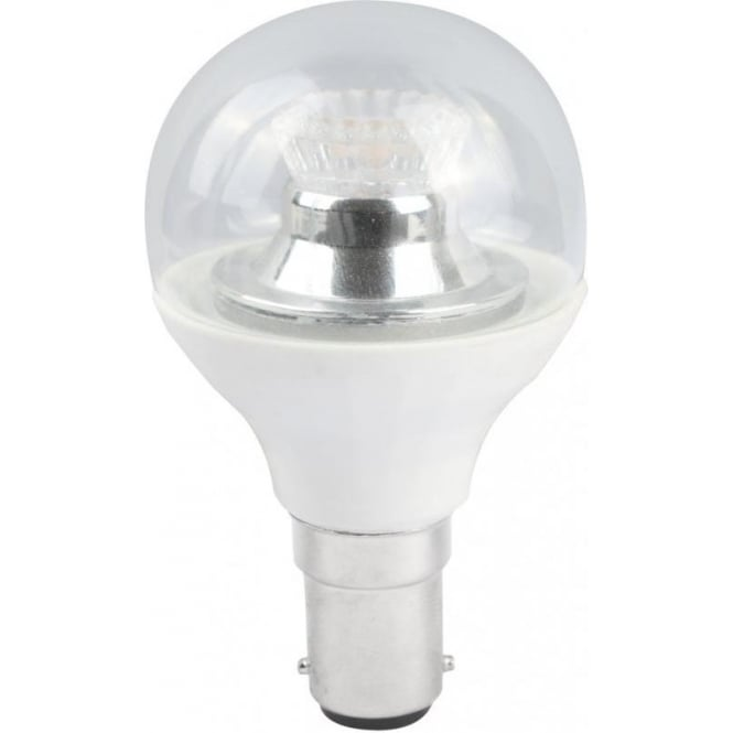 Bell Lighting 4w LED B15 Cool White Dimmable Clear Golf Ball Lamp